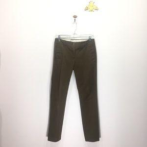 J. Crew olive green Bennett chino pants skinny 2